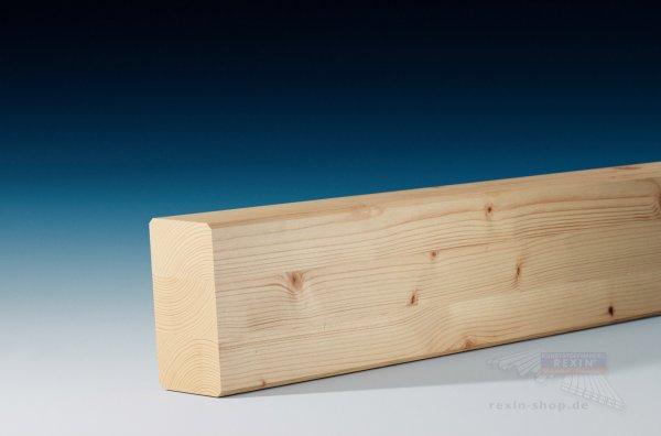 Leimbinder 6 x 12, Balken aus Brettschichtholz, 5°-Anschnitt