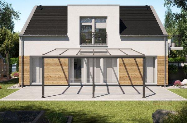 Alu-Terrassendach REXOpremium 6x4,5m