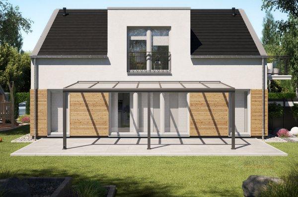 Alu-Terrassendach REXOpremium 7x3m