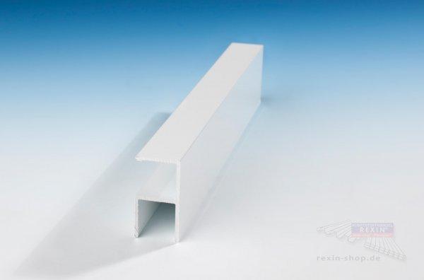 REXOboard Alu-90°-Schiene, weiß