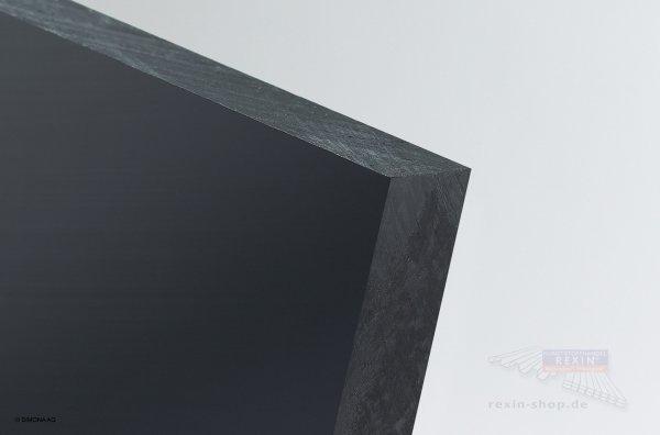 PE-HMW (PE-500) Platte, schwarz