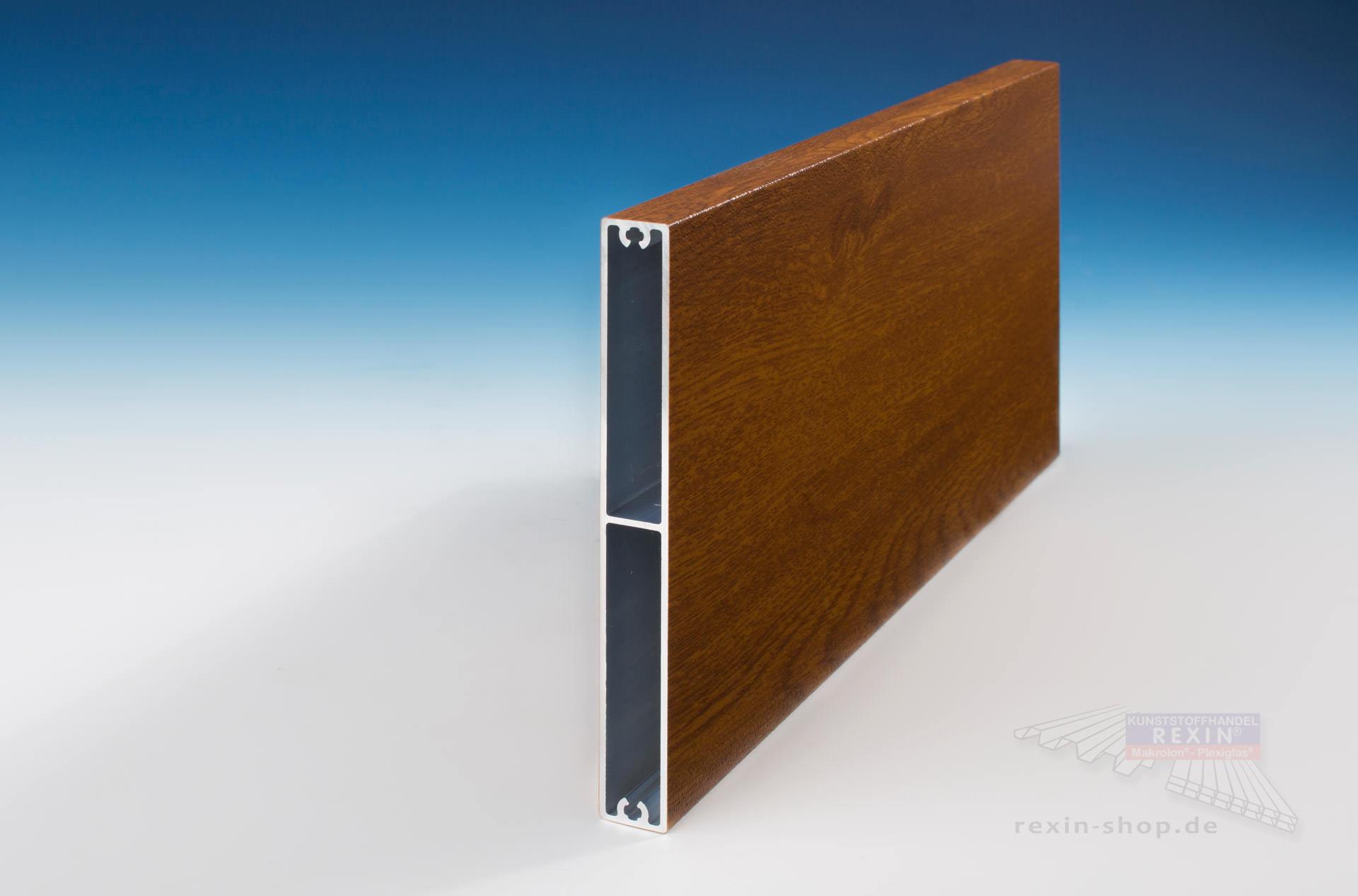 rexoboard alu balkonbretter 150mm golden oak holzdekor. Black Bedroom Furniture Sets. Home Design Ideas