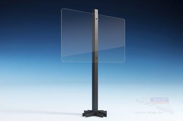 REXOcare Gastro Trennwand-Bausatz 1,50m x 1,5m