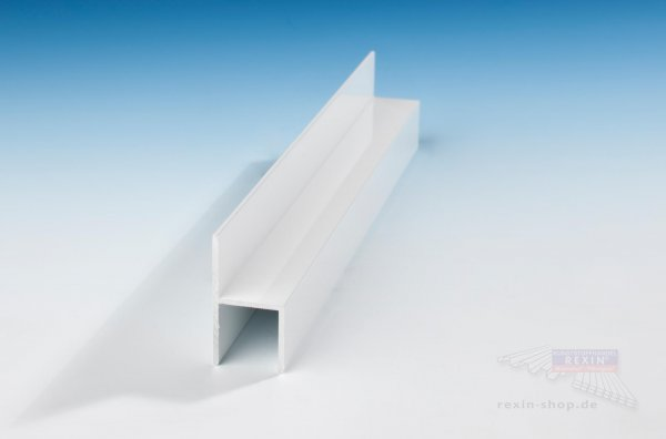 REXOboard Alu-Stuhl-Profil, weiß