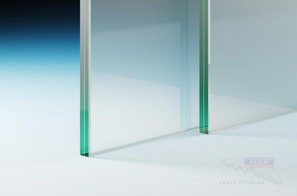 Verbundsicherheitsglas (VSG 10.76), 10mm matt-weiß