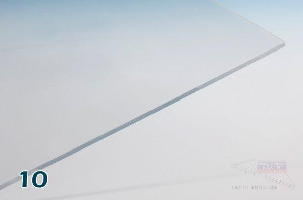 REXOplan Polycarbonat-Platte, 10mm, transparent