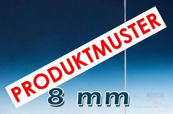 Plexiglas® XT Massivplatte, 8mm, klar MUSTER