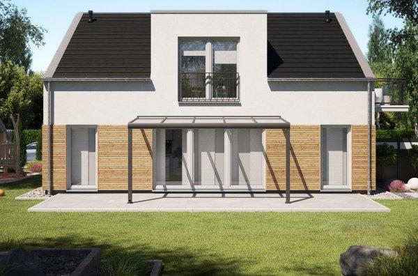 Alu-Terrassendach REXOpremium 5x2m