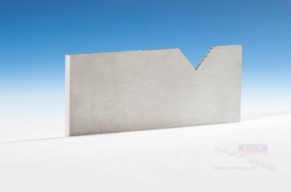 Edelstahl-Ziehklinge zum Entgraten, für Massivplatten bis 15mm