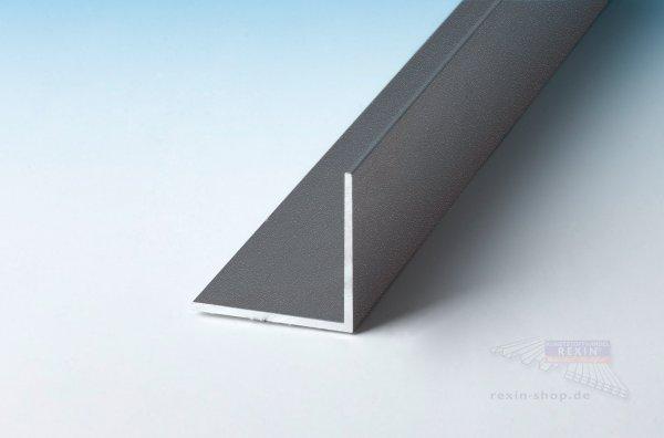 Aluminium-Winkelprofil 30mm x 30mm x 2mm, anthrazit