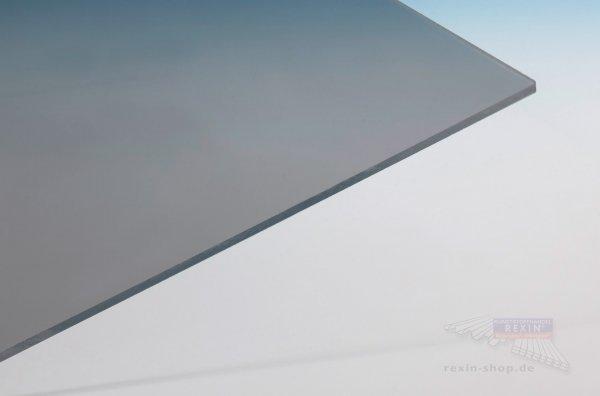 REXOplan Polycarbonat-Platte, 8mm, solar-grau