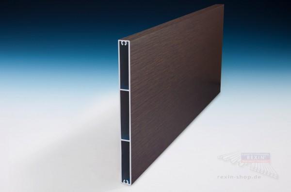 REXOboard Alu-Balkonbretter 200mm, Dark Oak Holzdekor