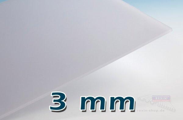 Makrolon® UV 3mm Massivplatte, opal (2150)