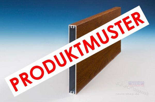 REXOboard Alu-Balkonbretter 150mm, Golden Oak Holzdekor MUSTER