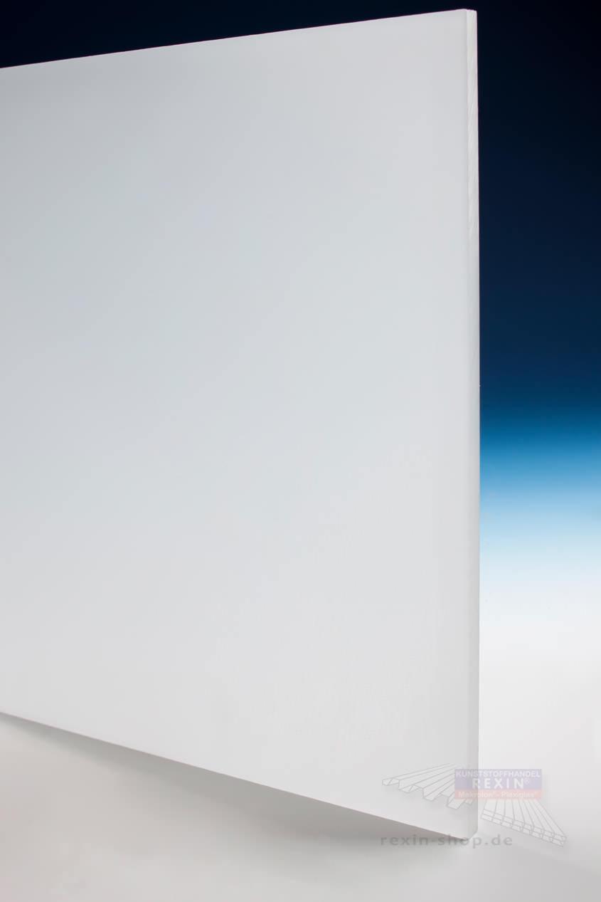 Plexiglas Gs Massivplatte 8mm Opal Satiniert Rexin Shop