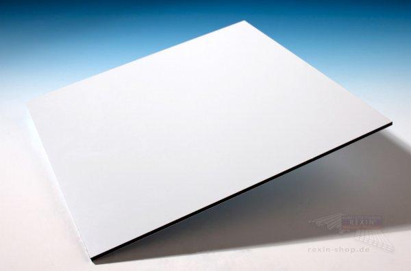 REXObond Alu-Verbundplatten, 2mm, weiss ~RAL 9016