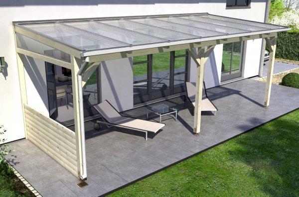 REXOcover Wood Terrassen-Brüstung 0,90m Höhe