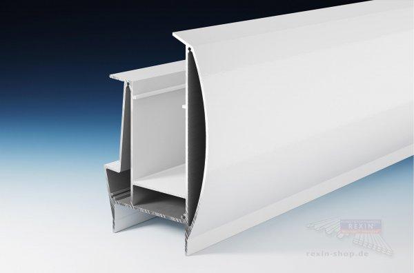 REXOpremium Alu-Hauptträger XL, weiß, Set