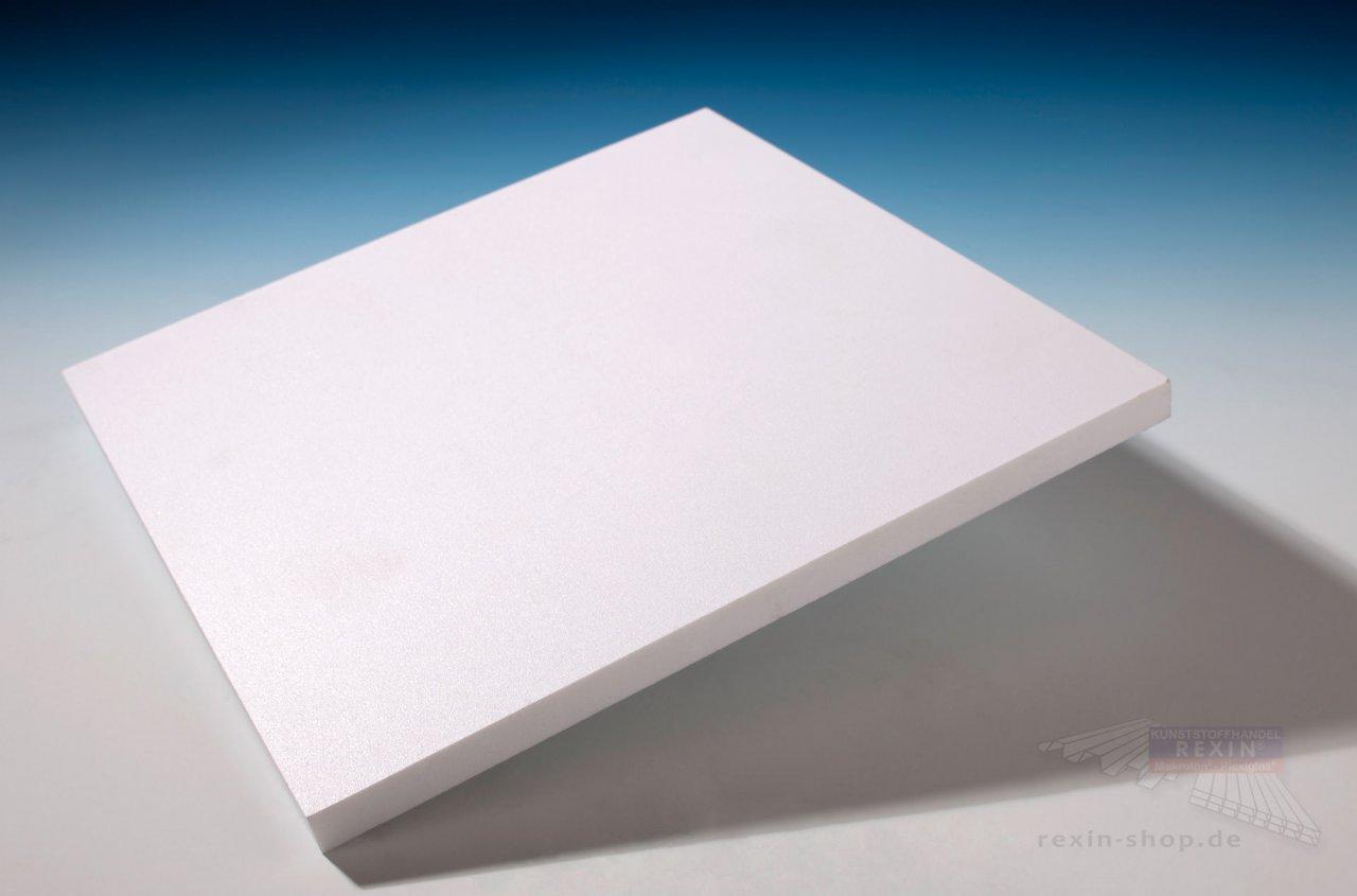 Forex print PVC-Hartschaumplatte, 10mm, weiĂź