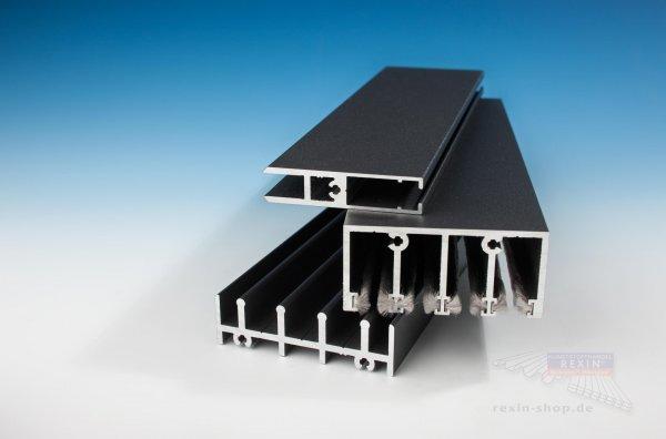 REXOslide Glasschiebewand - 3m Breite, 4-spurig