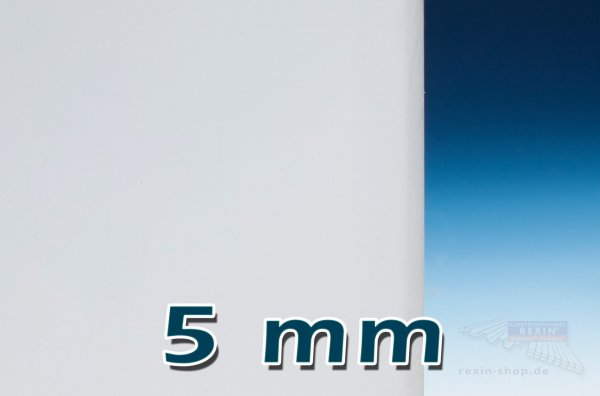 Plexiglas® GS Massivplatte, 5mm, opal satiniert