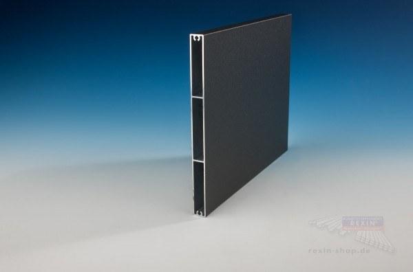 REXOboard Alu-Balkonbretter 200mm, anthrazit mit Struktureffekt