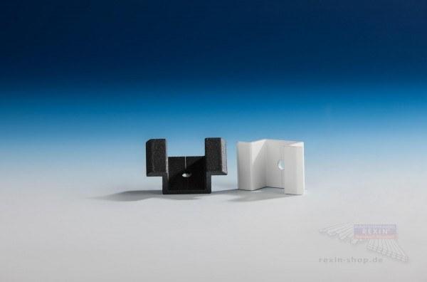 REXOboard Alu-Doppel-Profilhalter