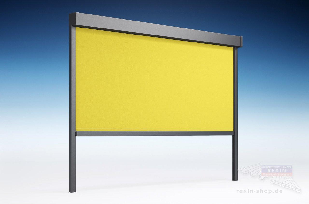 Lewens REXOmar Senkrechtmarkise Micro 3,00m x 3,00m