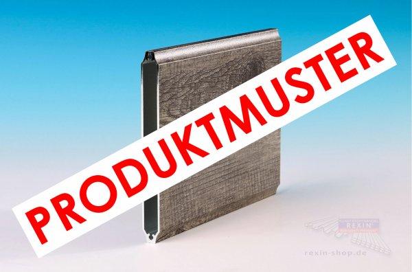 """REXOboard Alu-Balkonbretter, konkav 150mm, Holzdekor """"Treibholz"""" MUSTER"""