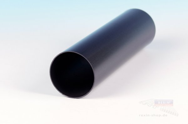 Kunststoff-Regenfallrohr, anthrazit