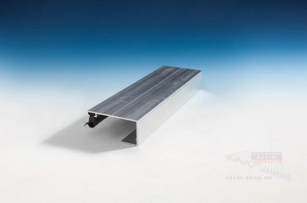 REXOsystem EZ Alu-Rand-Profil (Oberteil), für 10mm Platten