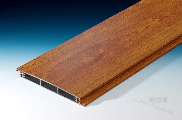 REXOfloor Alu Terrassendiele Holzdekor Golden Oak