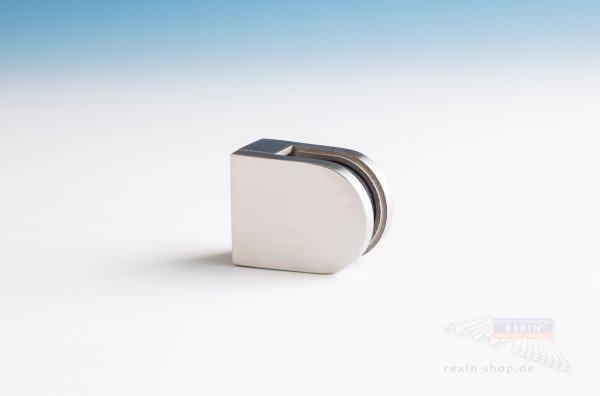 REXOguard Glashalter V2A, Edelstahl geschliffen