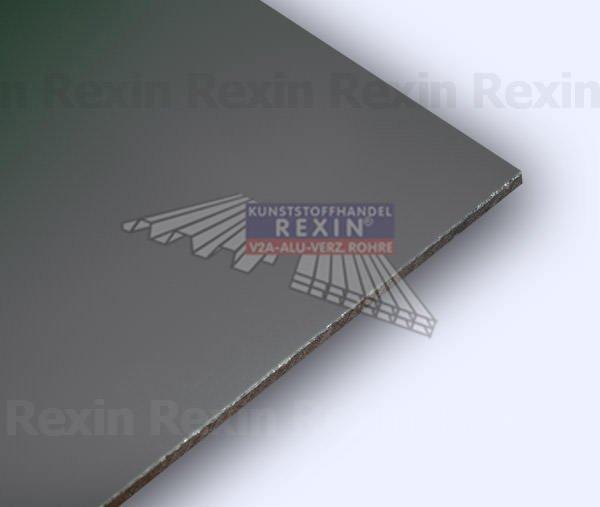 REXObond Alu-Verbundplatten, 3mm, dunkelgrau ~RAL 7016