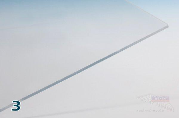 REXOplan Polycarbonat-Platte, 3mm, transparent