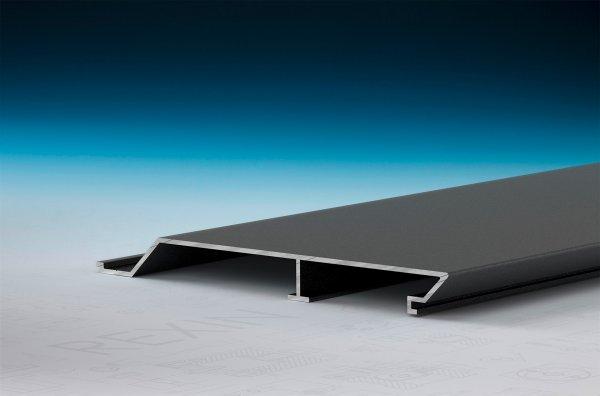 REXOpanel Alu Rhombus-Fassadenprofil 16mm, Anthrazit