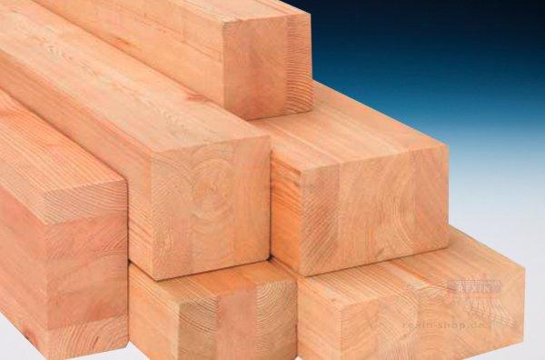 Leimbinder 6 x 14, Balken aus Brettschichtholz