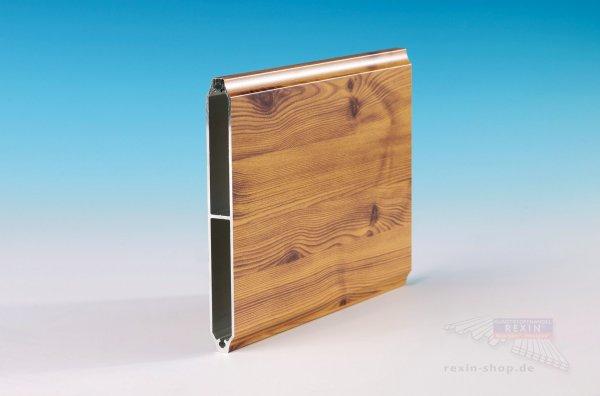 """REXOboard Alu-Balkonbretter, konkav 150mm, Holzdekor """"Fichte"""""""
