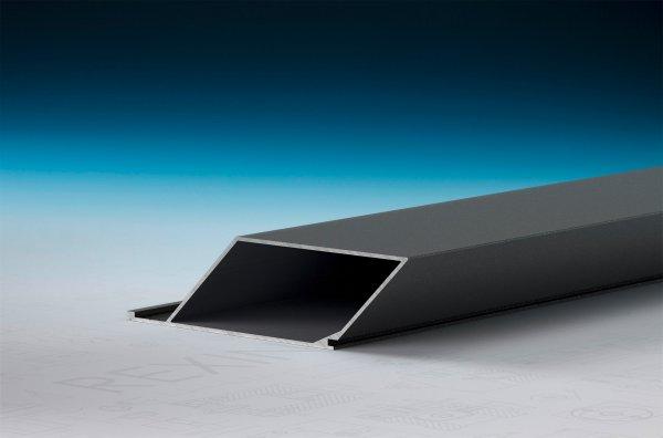 REXOpanel Alu Rhombusprofil 32mm, geschlossen, Anthrazit