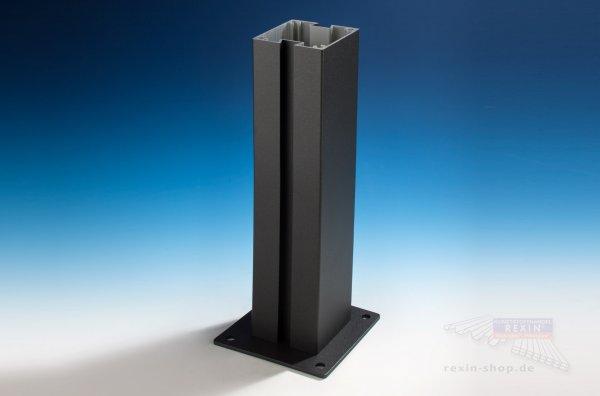 REXOcover Vario 2er Nut-Pfosten-Set, für 1,20 m Höhe