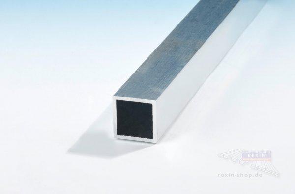 Aluminium-Vierkantrohre 30mm x 30mm x 2mm, pressblank