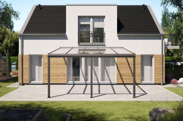 Alu-Terrassendach REXOpremium 5x5m
