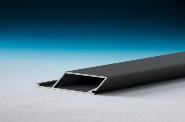 REXOpanel Alu Rhombusprofil 16mm, geschlossen, Anthrazit