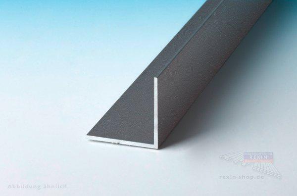 Aluminium-Winkelprofile 15mm x 30mm x 2mm, farbig beschichtet