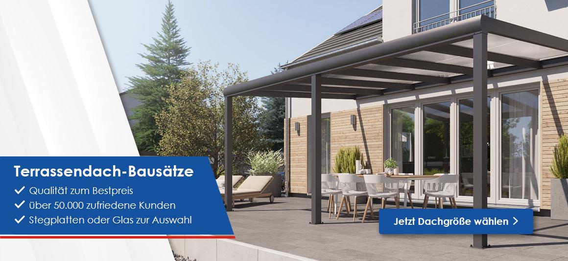 terrassen berdachungen stegplatten und plexiglas kaufen rexin shop. Black Bedroom Furniture Sets. Home Design Ideas
