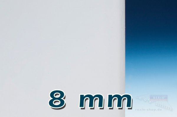 Plexiglas® GS Massivplatte, 8mm, opal satiniert