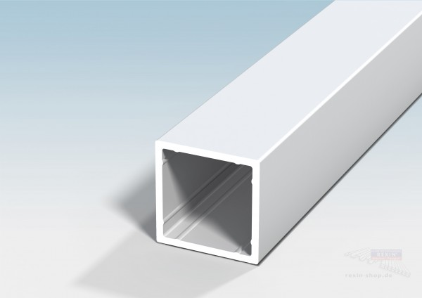REXOguard Alu-Pfosten 60x60x3,5mm, weiß