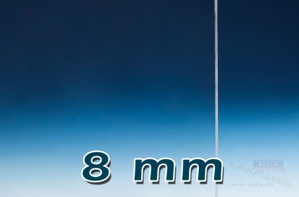 Plexiglas® XT Massivplatte, 8mm, klar