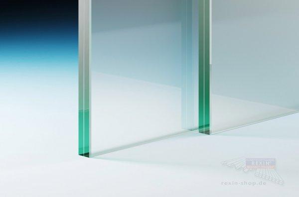 Verbundsicherheitsglas (VSG 12.76), 12mm matt-weiß