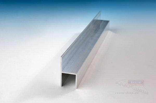REXOsystem Alu-Stuhl-Profil für 16mm Platten, pressblank